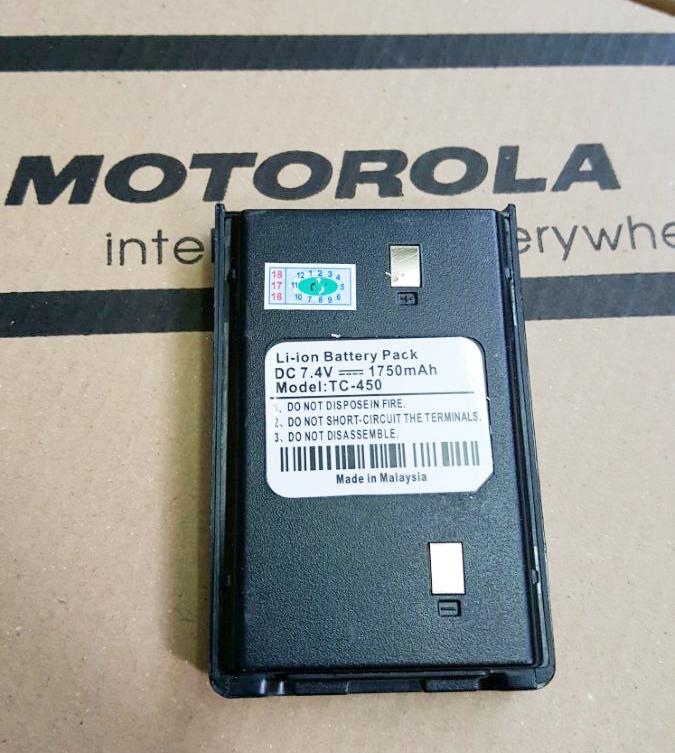 Pin Máy Bộ Đàm Motorola TC-450