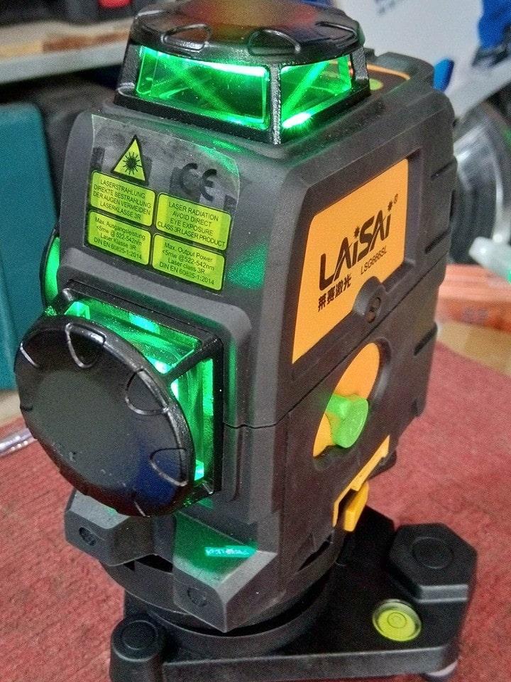 Máy cân bằng laser Laisai LSG-666SL 12 tia xanh